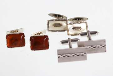 3 pairs of cufflinks