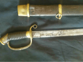 Russian officer's saber