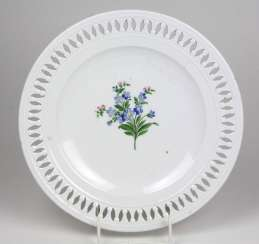 Meissen breakthrough plate around 1815