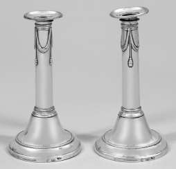Pair Of Empire Candelabra