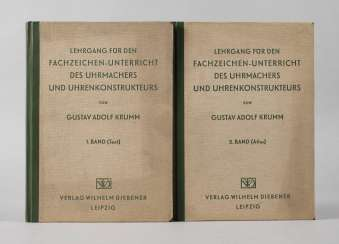 Two Volumes Of The Horological Literature