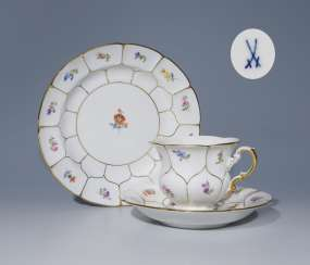 Coffee table Setting, MEISSEN 1953