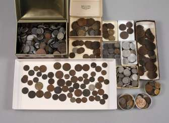Large Collection Of Small Coins