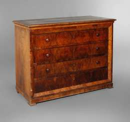 Large Biedermeier Chest Of Drawers