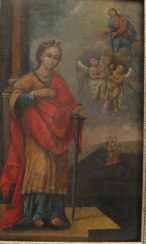 The Icon Of St. Catherine the 18th century