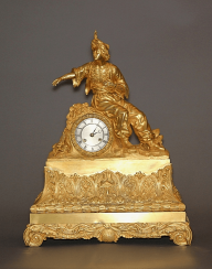 Mantel clock.France, bronze,