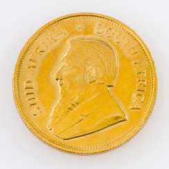 South Africa GOLD 1 oz Krugerrand 1978