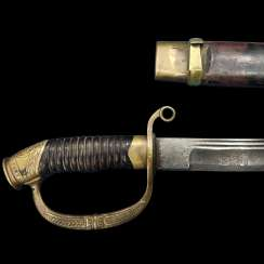 Saber Dragoon officer sample 1881/1909 year