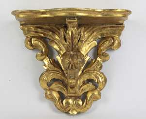 gold plated wall bracket 19. Century
