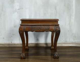 Antique carved side table