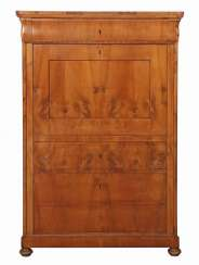 Biedermeier cabinet with blender front, 2nd quarter of the 19th century