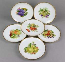 Hutschenreuther Set Of Fruit Platter
