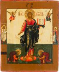 FINE ICON WITH CHRIST OF SMOLENSK Russia