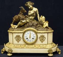 Baroque Clock, the end of the 18th century.