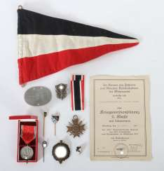 Class military. Mixed lot 3rd Reich