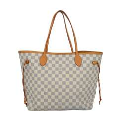 "LOUIS VUITTON Shopper bag ""NEVERFULL MM"", current new price: 1,120 €."