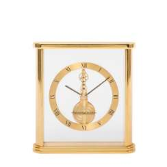TABLE CLOCK WITH FRAME