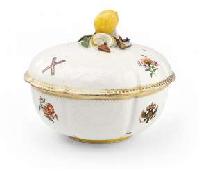 A Rare and Important Soup Tureen from the St Andrew Service