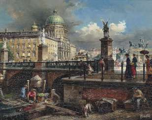 Nitschke, Detlef. The castle bridge in Berlin
