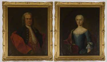 Portrait counterparts of the Gett Köstner couple
