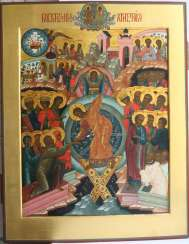 Russian icon Resurrection of Christ Palich Moscow