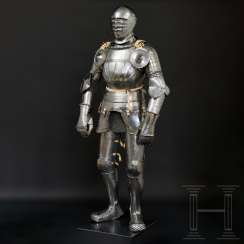 Maximilian knightly armor, German, around 1510/20
