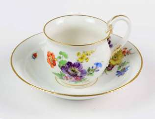 Meissen Swan Handle Table Setting *Flower Bouquet*