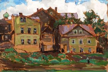 KONSTANTIN ALEKSEEVICH KOROVIN 1861, Moscow - 1939, Paris (attributed to) Small study