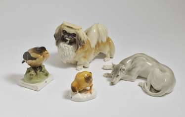 Four Animal Figures