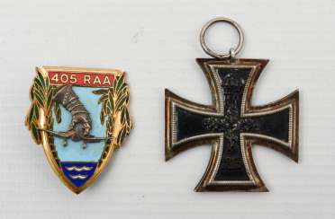 TWO nuns, a French order of artillery regiment and the Iron cross, 1.Half of the 20. Century