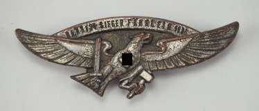DJ: Winner badge of the sports competitions of the Bann 124 (Upper Swabia / Württemberg / South) - 1938.