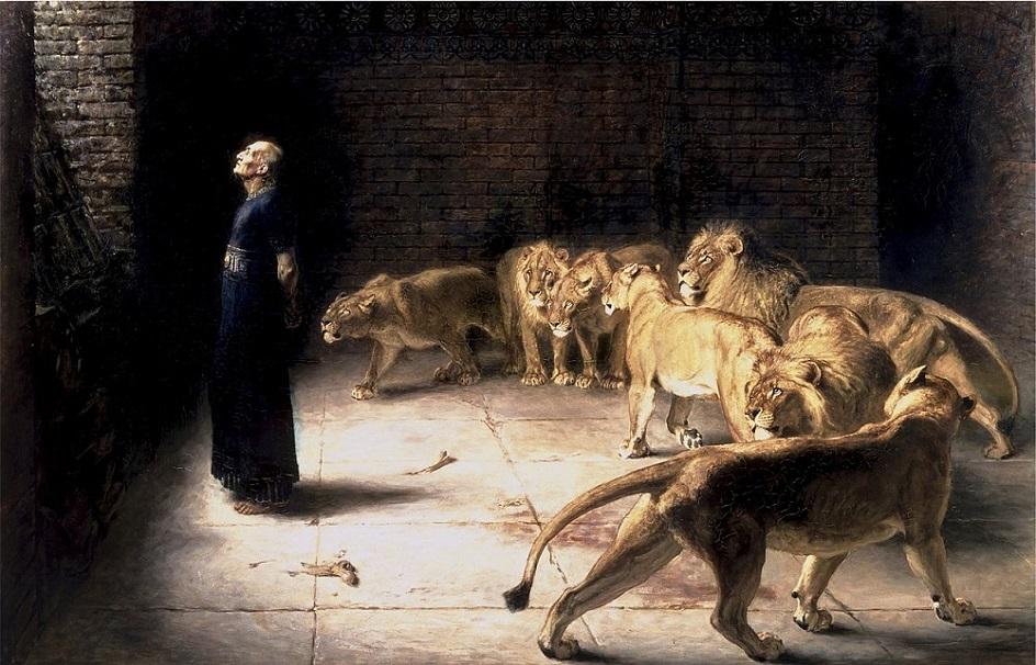 Казни в живописи. Брайтон Ривьер. Ответ Даниила королю