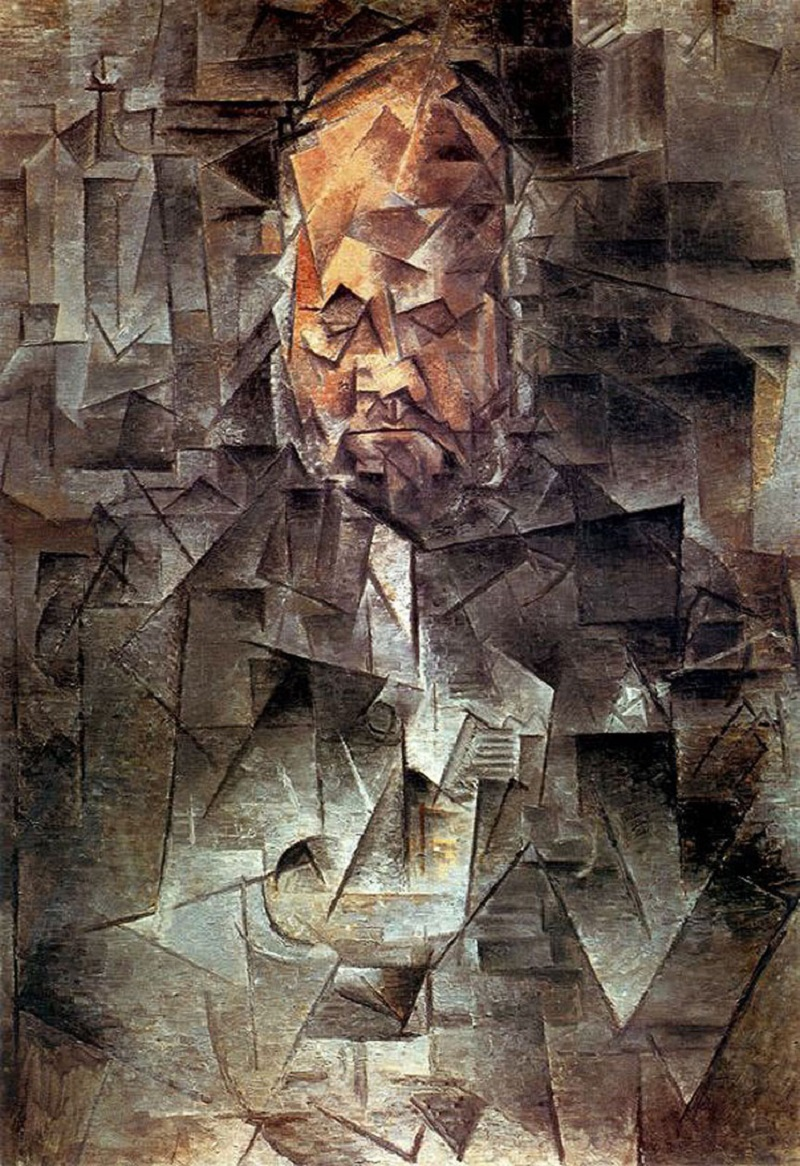 Кубизм. «Портрет Амбуаза Воллара», Пабло Пикассо