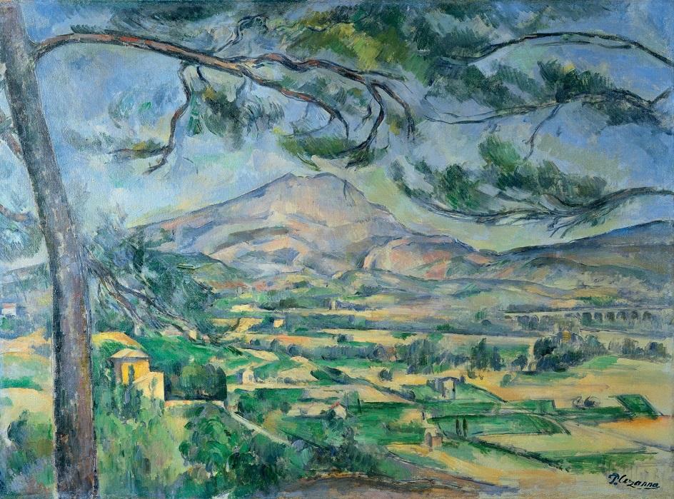 Кубизм. «Гора Сент-Виктуар», Поль Сезанн