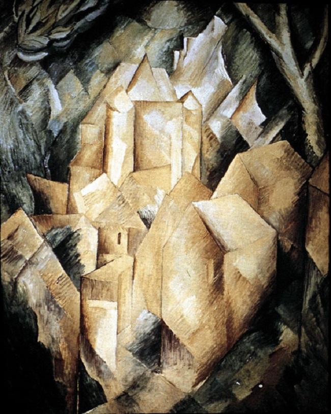 Кубизм. «Дома в Эстраке», Жорж Брак