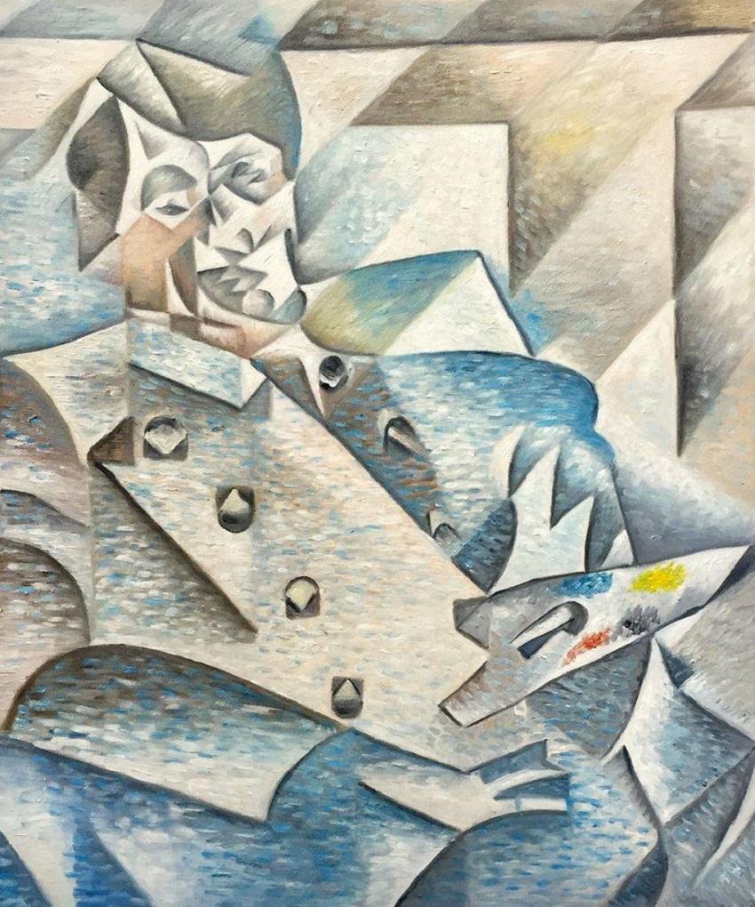 Кубизм. «Портрет Пикассо», Хуан Грис