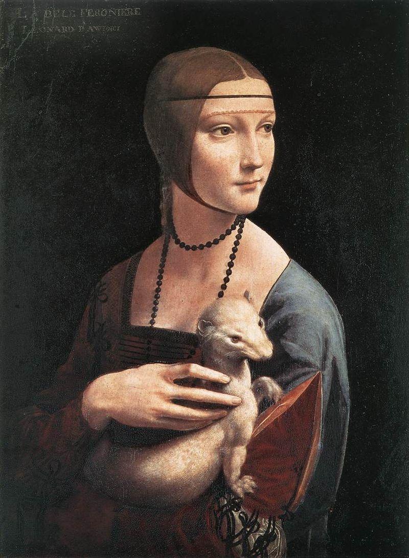 «Дама с горностаем». Леонардо да Винчи