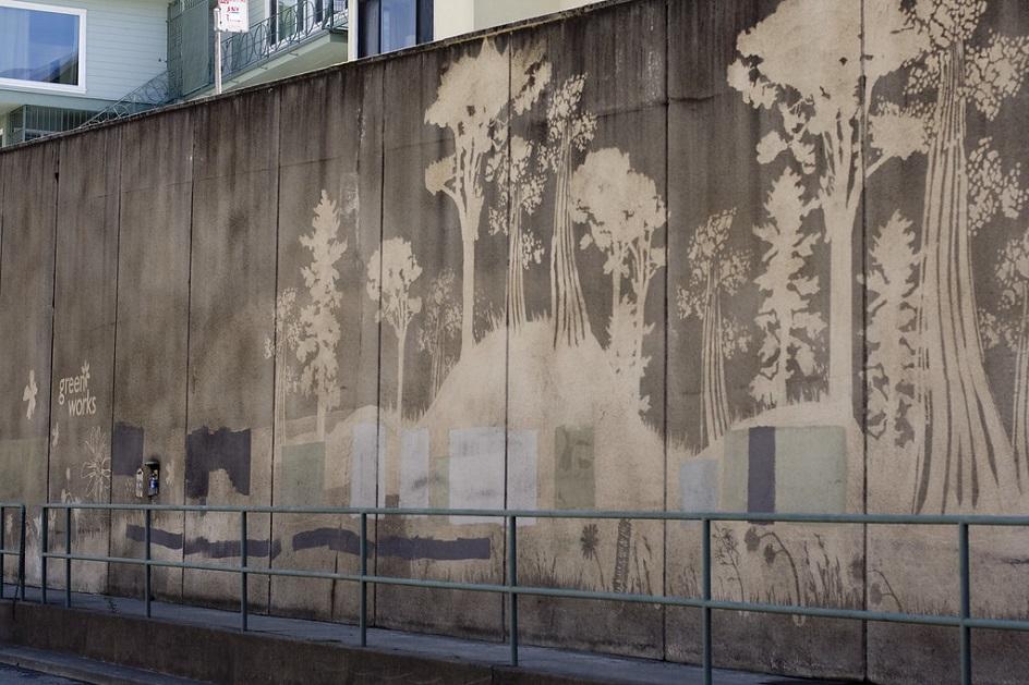 Reverse Graffiti. Очистка стен или искусство: как Пол Кертис создаёт картины в стиле обратного граффити