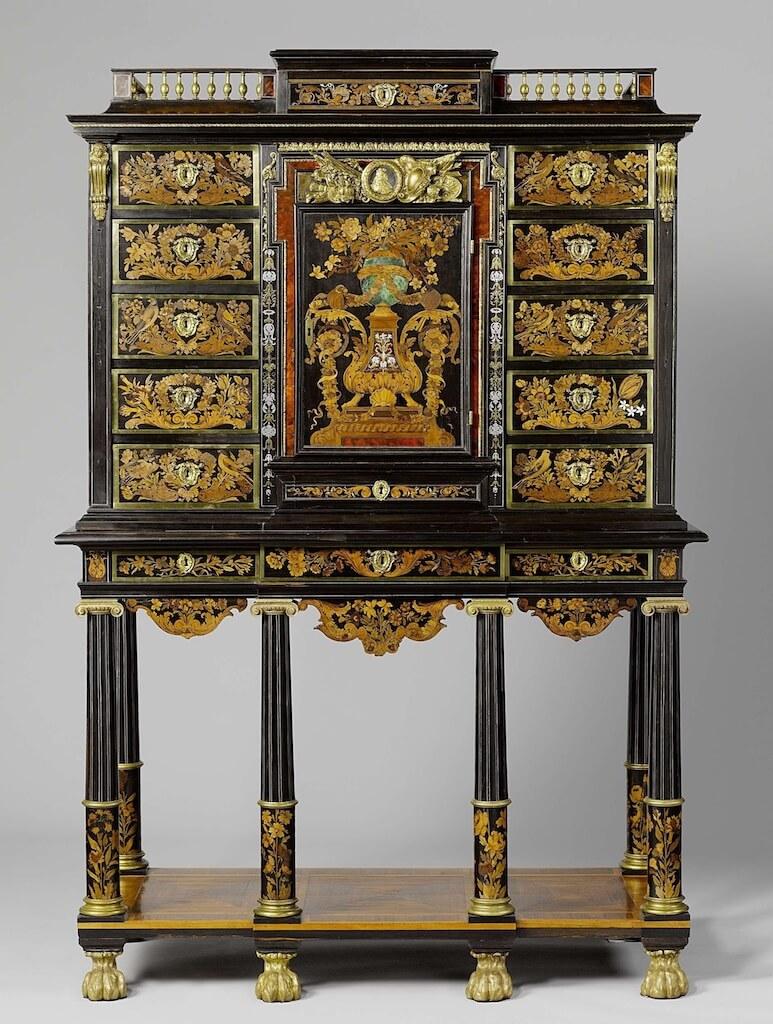 Андре-Шарль Буль. Кабинет, 1670 -1675