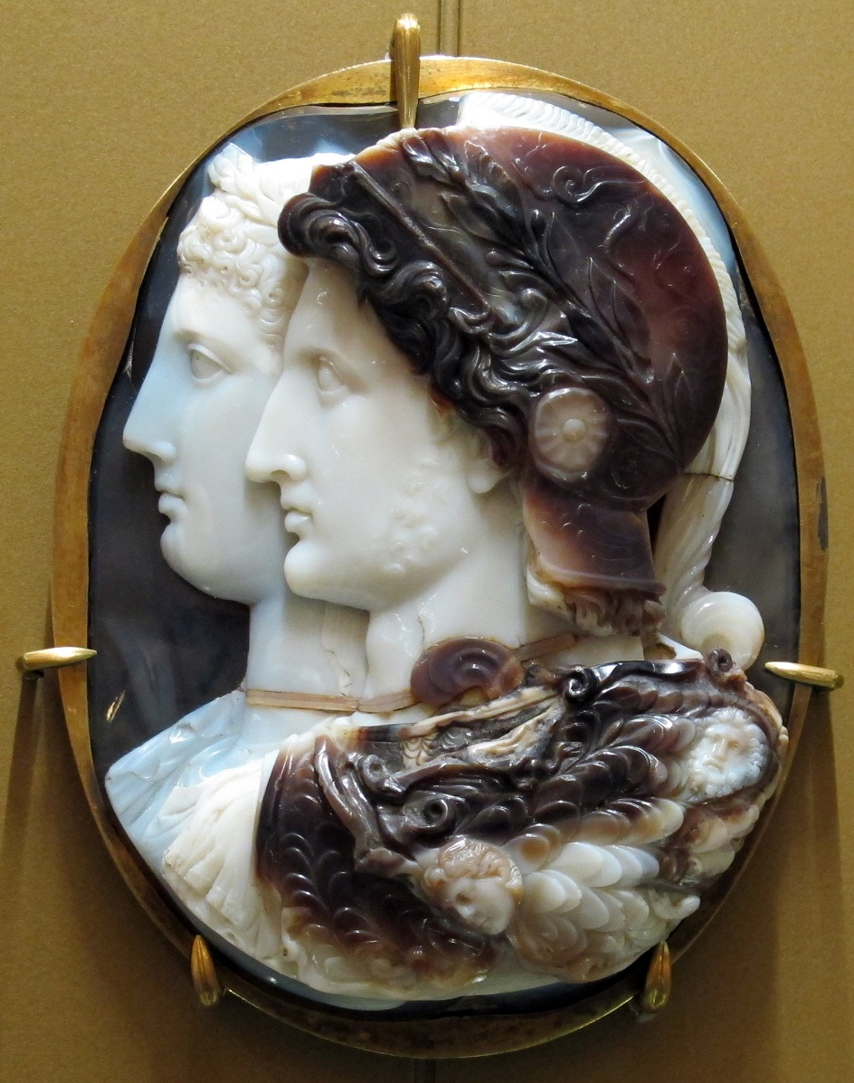 Эллинизм. Камея «Камея Гонгаза», III век до нашей эры