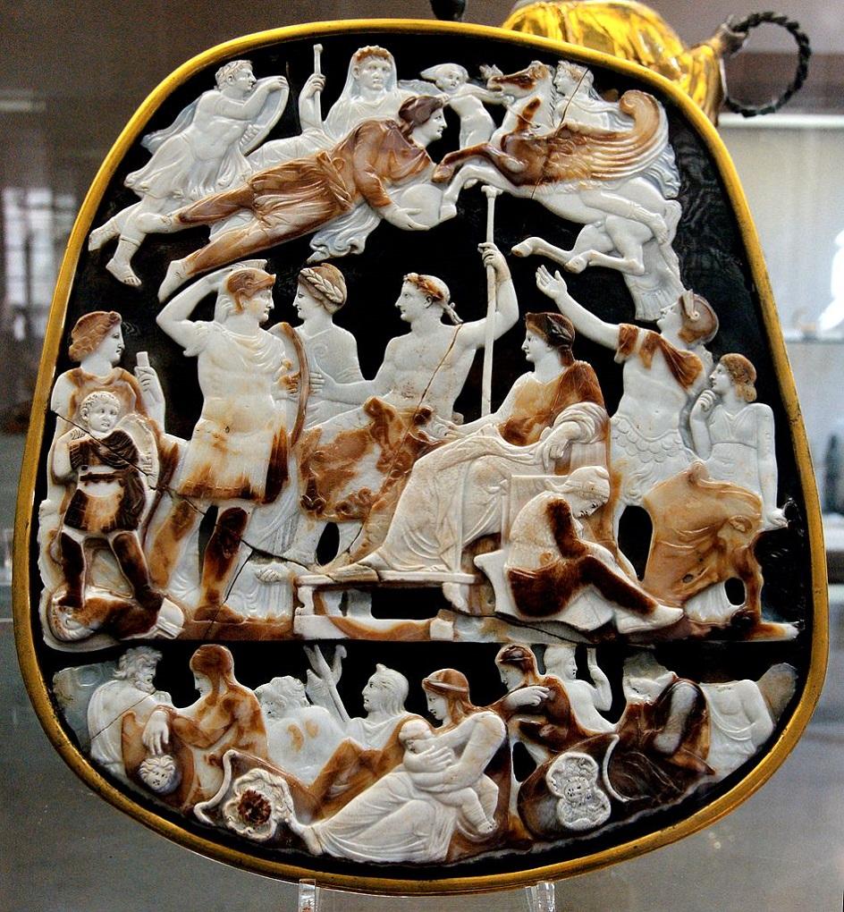 Барельеф. Большая камея Франции. I век до нашей эры