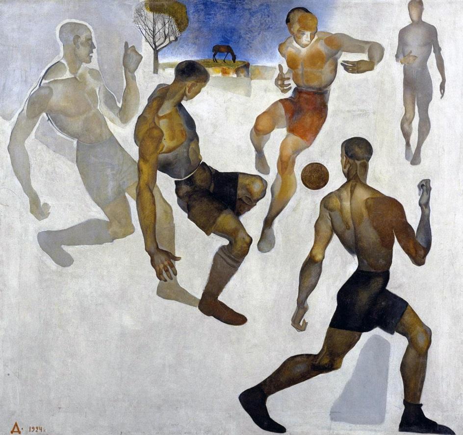 Александр Дейнека. «Футбол», 1924