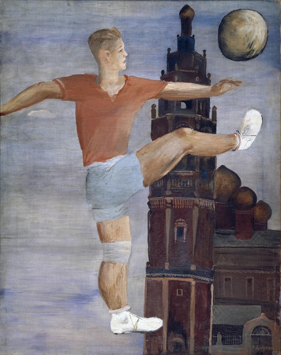 Александр Дейнека. «Футболист», 1932