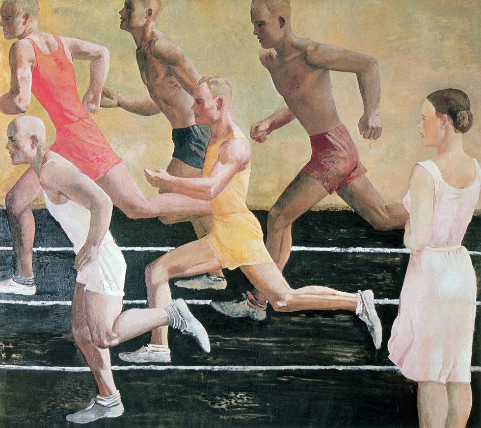 Александр Дейнека. «Бег», 1932