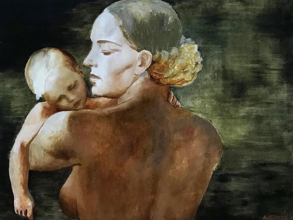 Александр Дейнека. «Мать», 1932