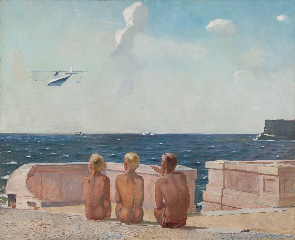 Александр Дейнека. «Будущие летчики», 1938