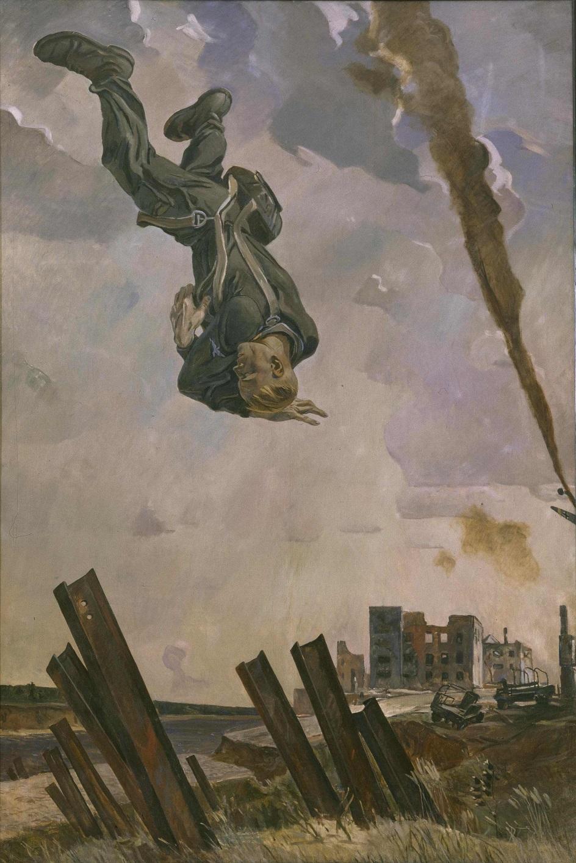 Александр Дейнека. «Сбитый ас», 1943