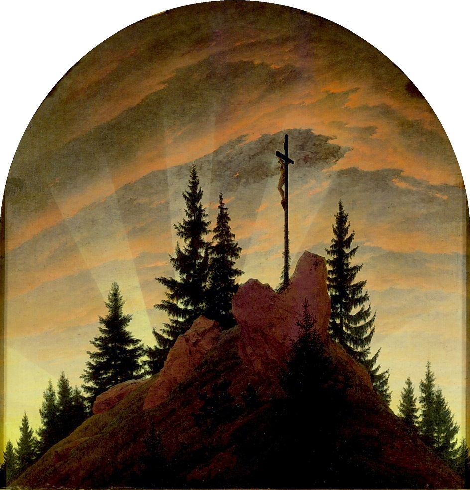 Символизм. Каспар Давид Фридрих. «Крест в горах»