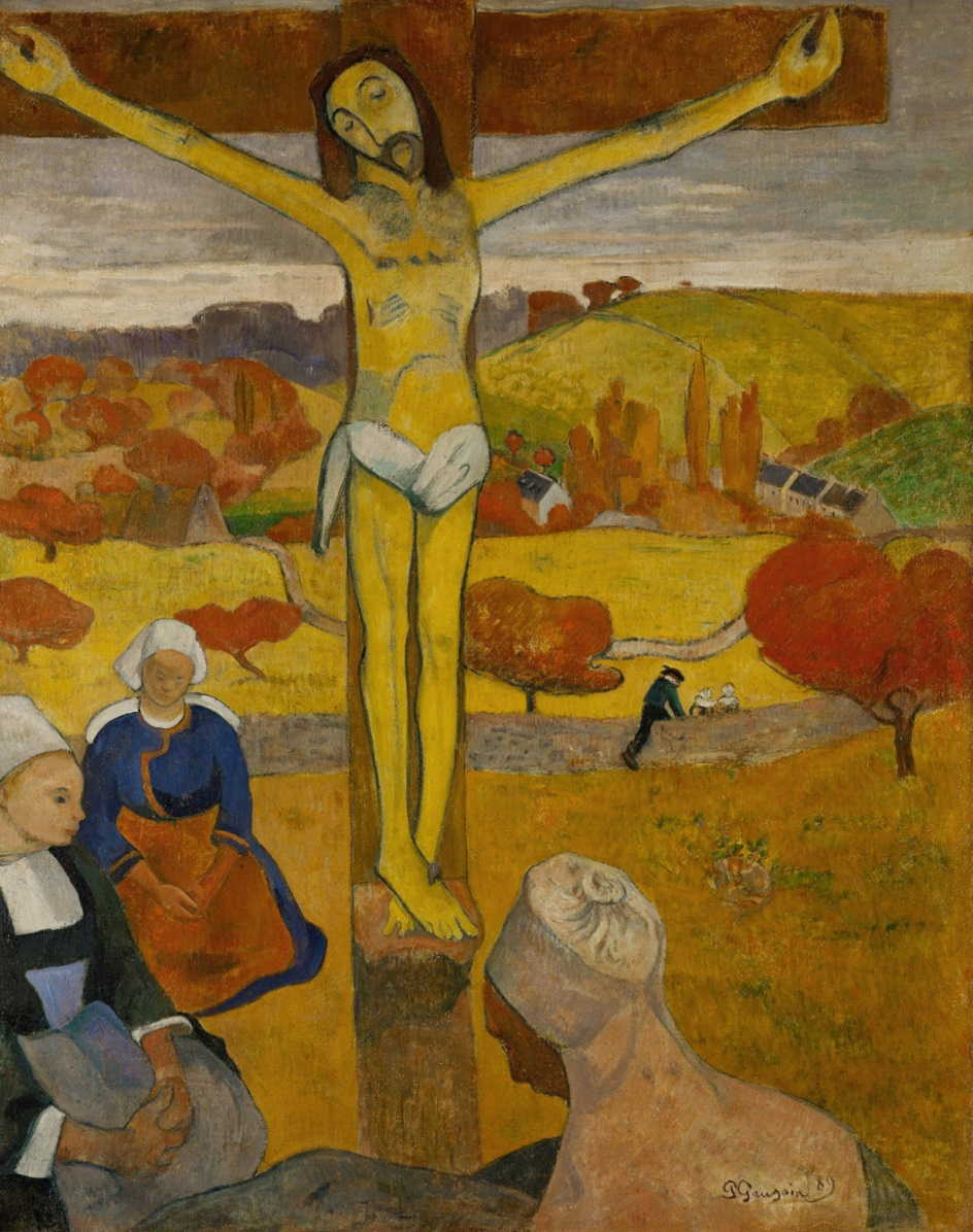 Символизм. Поль Гоген. «Желтый Христос»
