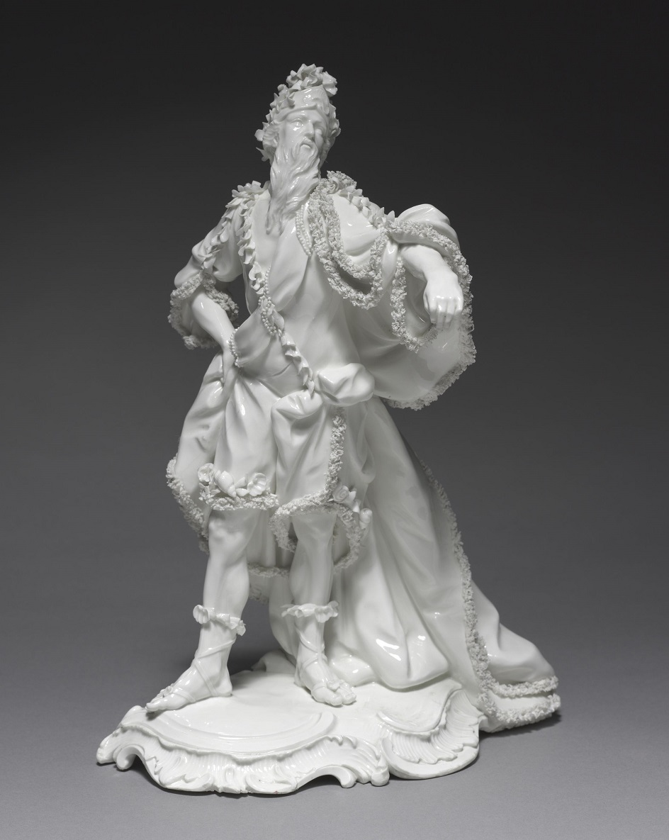 Фарфор Франкенталь. Скульптура Франца Конрада Линка «Океан», 1765